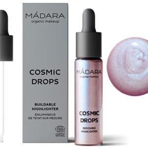 Madara Cosmic Drops rozświetlacz Aurora Borealis 13,5 ml