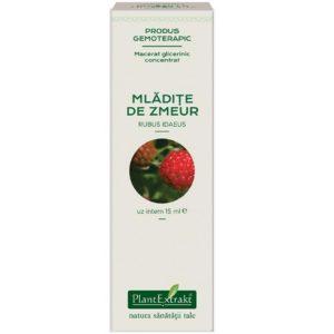 Malina właściwa macerat glicerynowy (Rubus idaeus) Mladite de Zmeur PlantExtrakt 15 ml