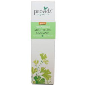 Maseczka przeciwzmarszczkowa do twarzy Mille Fleurs Provida Organics 50 ml