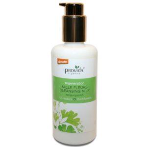 Mleczko przeciwzmarszczkowe do mycia twarzy Mille Fleurs Provida Organics 100 ml