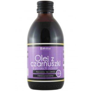 Myvita olej z czarnuszki z polskich nasion 250 ml
