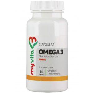 MyVita Omega-3 Forte EPA DHA 60 kapsułek