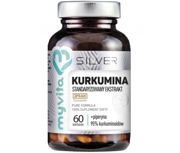 MyVita Silver Kurkumina 60 kapsułek