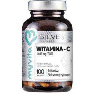 Myvita Silver witamina C 1000 mg Forte 100 kapsułek