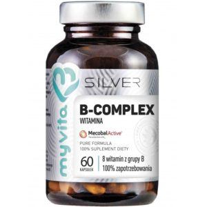 Witamina B Complex 100% Silver MyVita 60 kapsułek