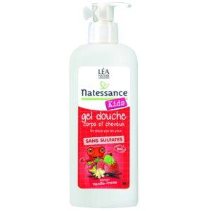 Natessance Kids Wanilia Żel do mycia ciała i włosów dla dzieci 500 ml