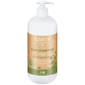 Szampon odżywczy do włosów Ginkgo i Oliwka FAMILY Sante Naturkosmetik 950 ml