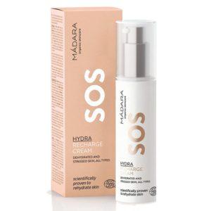 Madara Hydra Recharge SOS | Naturalny krem do odwodnionej skóry