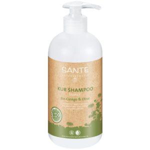 Naturalny szampon do włosów z odżywką Ginkgo i Oliwka FAMILY Sante 500 ml