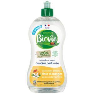 Płyn do naczyń na bazie octu i olejku eterycznego z pomarańczy Biovie 500 ml
