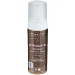 Naturalna odżywka do włosów bez spłukiwania w piance Balm Care Sante Naturkosmetik