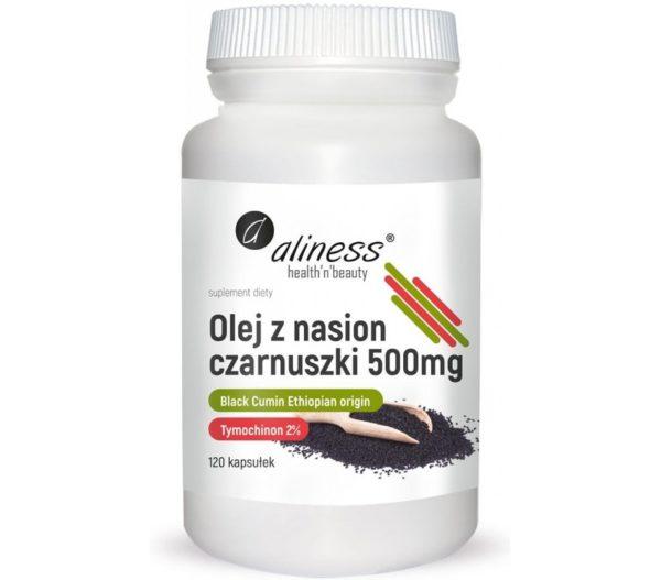 Olej z nasion czarnuszki 500 mg