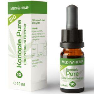 Olejek Bio CBD 10% MediHemp 10 ml