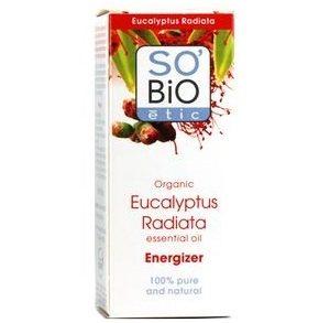 Olejek Eteryczny Eukaliptus Australijski Bio - energetyzujący SO BIO 15 ml