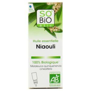 Olejek eteryczny Niaouli Bio - antybakteryjny SO BIO 15 ml