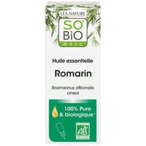 Olejek eteryczny Rozmaryn Bio - oczyszczający SO BIO 15 ml