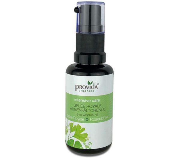 Olejek pod oczy z mleczkiem pszczelim Provida Organics 30 ml