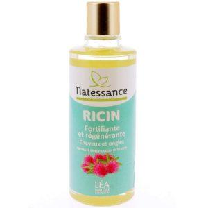 Olejek Rycynowy wzmacniający do włosów i paznokci Natessance 50 ml
