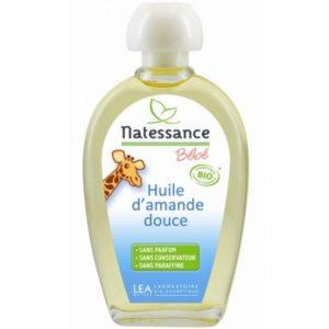 Oliwka dla niemowląt i dzieci ze słodkich migdałów Natessance bébé 50 ml