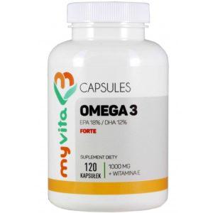 Omega-3 Forte MyVita 120 kapsułek