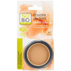 Organiczny puder w kompakcie 02 Beige dore SO BiO 10 g