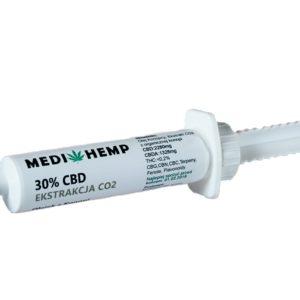 Pasta konopna CBD 40% z ekstrakcji CO2 MediHemp 10 ml/12g
