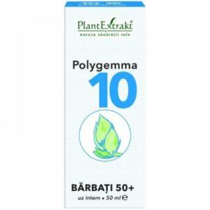 PlantExtrakt Polygemma 10 50 ml | Wsparcie dla mężczyzn 50+