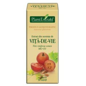 PlantExtrakt Vita de vie 50 ml   Nasiona winorośli właściwej (Vitis vinifera semi)