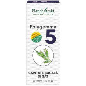 Polygemma 05 PlantExtrakt 50 ml | Ochrona jamy ustnej i gardła