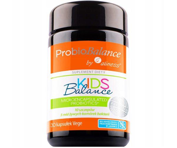 Aliness ProbioBalance Kids 30 kaps. | Probiotyk dla dzieci