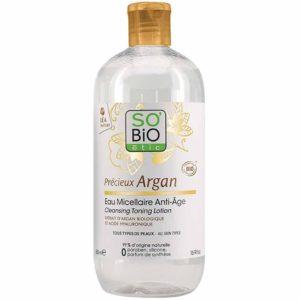 Przeciwzmarszczkowa woda micelarna Olejek Arganowy SO BIO 500 ml