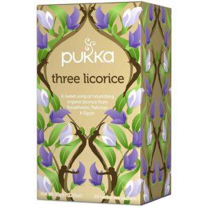 Pukka Herbs Three Licorice Bio 20 saszetek