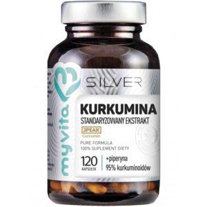 Silver MyVita Kurkumina 120 kapsułek