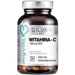 Silver Myvita Witamina C 1000 mg Forte 50 kapsułek