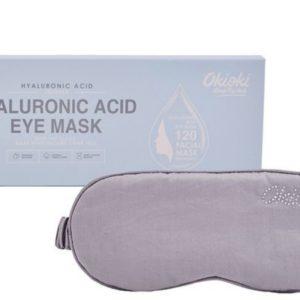 Sleep Eye Mask OkiOki | Maska na oczy z kwasem hialuronowym Lawenda