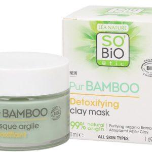 SO BiO Pur Bamboo Detoksykująca maseczka z glinką 50 ml