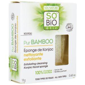 So Bio Pur BAMBOO Gąbka konjac