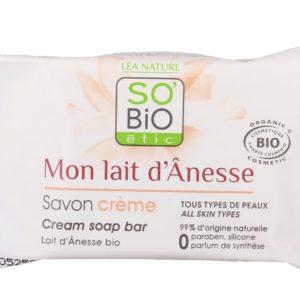 Kremowe mydło z oślim mlekiem SO BiO 100 g