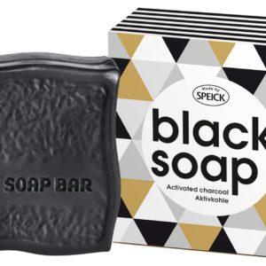 Speick czarne mydło oczyszczające z węglem bambusowym 100 g