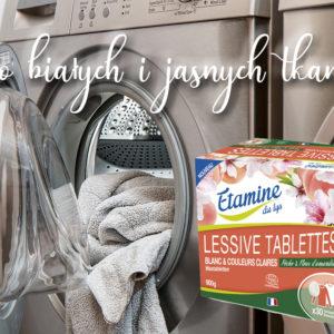 Tabletki do prania białych i jasnych tkanin Etamine du Lys 30 sztuk