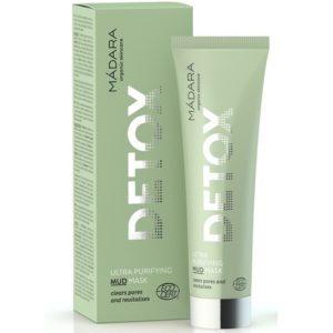 Ultra oczyszczająca maseczka Detox MADARA 60 ml