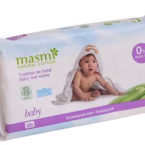 Wilgotne chusteczki oczyszczające dla dzieci Masmi 60 szt.
