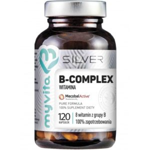 Witamina B Complex Myvita Silver 100% 120 kapsułek