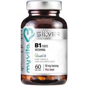 Witamina B1 Tiamina Forte Silver MyVita 60 kapsułek