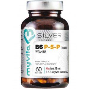 Witamina B6 P-5-P Silver MyVita 60 kapsułek