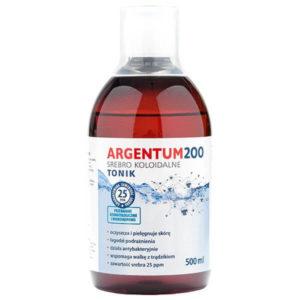 Argentum200 25 ppm srebro koloidalne 500 ml