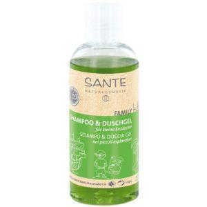 Sante Naturkosmetik Family Kids Szampon i żel pod prysznic dla dzieci