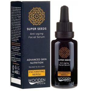 Wooden Spoon Superseeds Neroli serum przeciwzmarszczkowe do twarzy