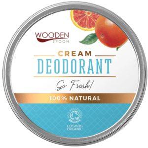 Wooden Spoon Go Fresh dezodorant w kremie 60 ml