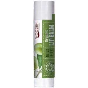 Wooden Spoon Olive Kiss organiczny balsam do ust 4,3 ml